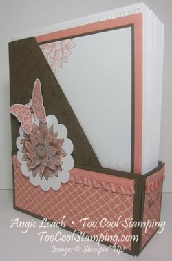 Magazine Holder - cantaloupe