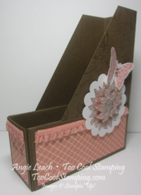 Magazine Holder - cantaloupe 5