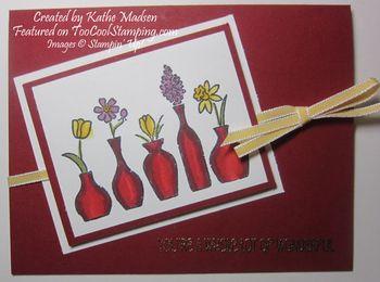 Kathe - vivid vases red copy