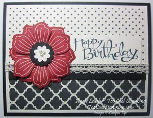 Modern medley - birthday bloom for you