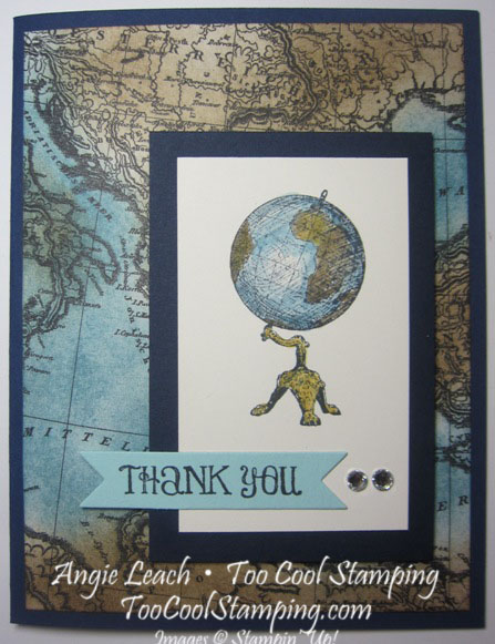 Map globe - clean 1