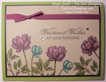 Bloom with Blendas - warm wishes