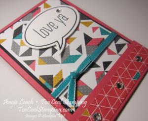M&m matchbooks - love ya 2