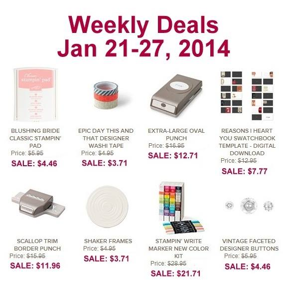 Weekly deals - jan 21-27