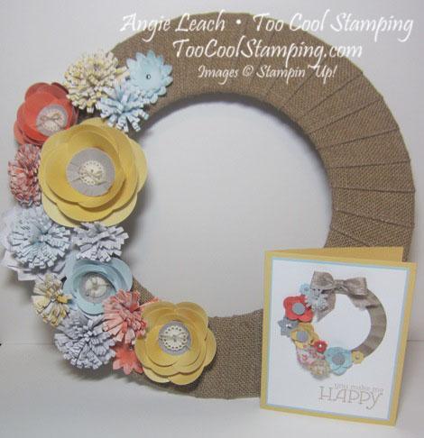Wreath & wreath card_toocool