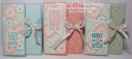Scallop gate cards - three cool