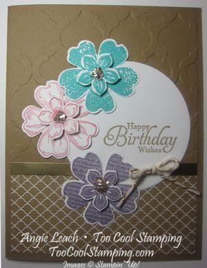 Petite petals layers - birthday