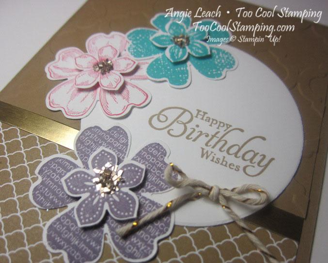 Petite petals layers - birthday 2
