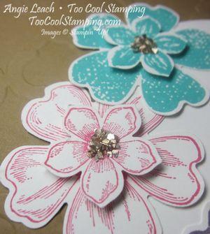 Petite petals layers - birthday 3