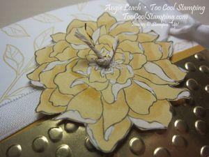 Peaceful treat holder - gold 2