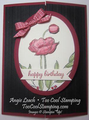 Simply sketched primrose - happy birthday