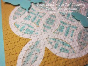 Lattice quilt - white lattice kind 2