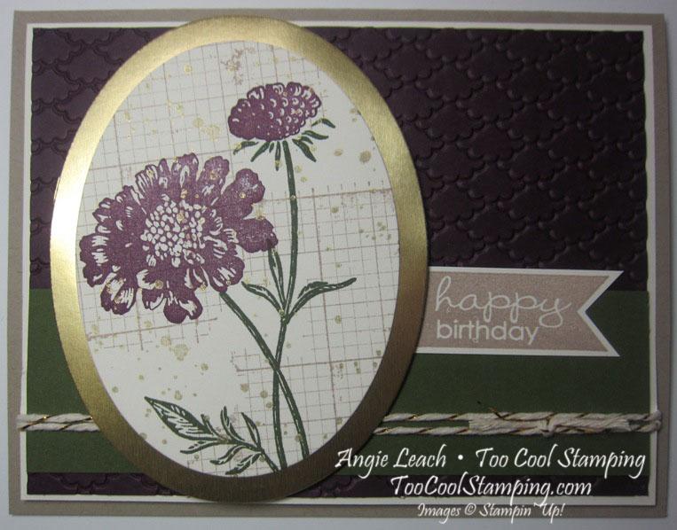 Field flowers - birthday