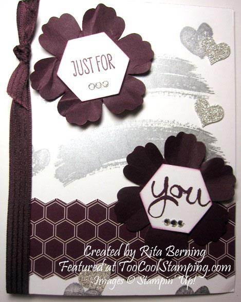 Rita - blackberry & silver copy