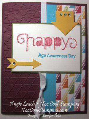 Age awareness arrows - awareness