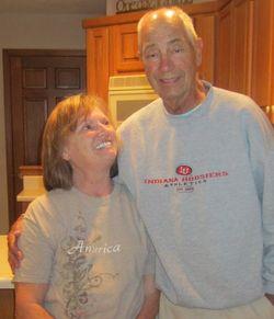 Dad & dawn 2 - 78th birthday