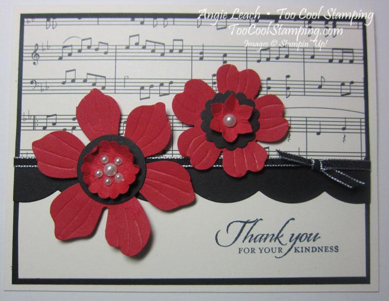 Modern medley - thank you music notes