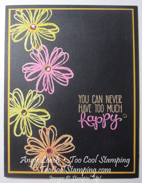 Blendabilities neon flowers - happy