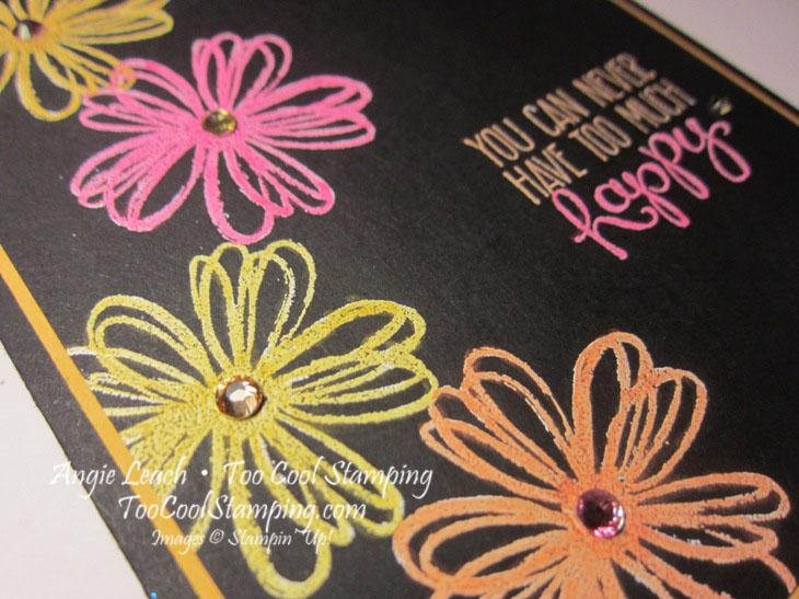 Blendabilities neon flowers - happy2