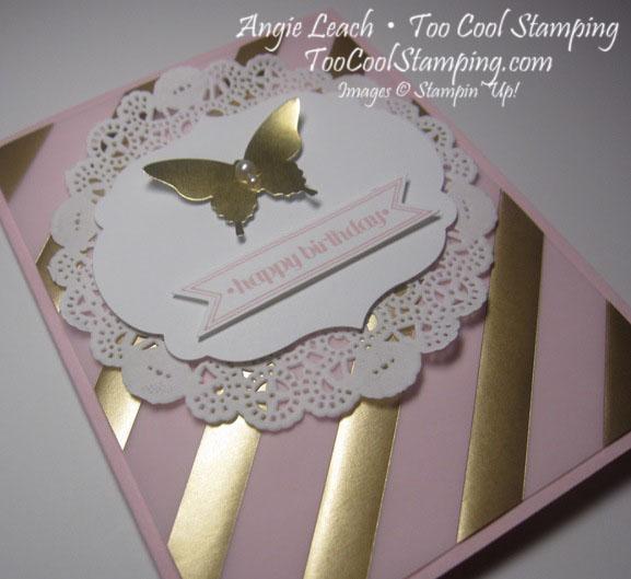 Pink golden - birthday 2