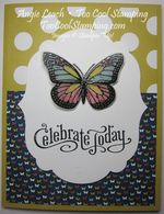 Butterflies stained glass - celebrate