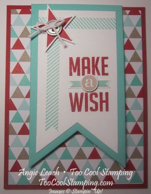 Pennant fold - make a wish