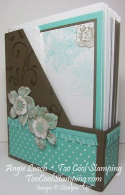 Magazine Holder - coastal