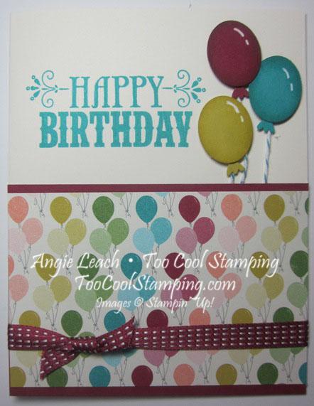 Birthday balloons - right