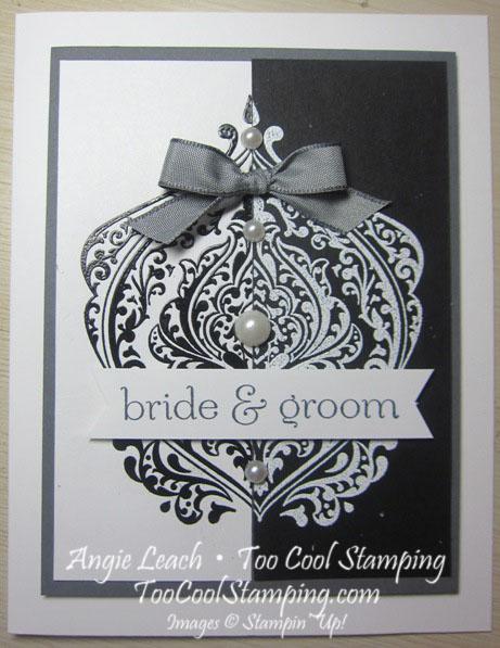 Baroque split neg - bride groom