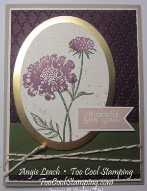Field flowers - thankful