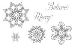 Snowflake soiree 127925L
