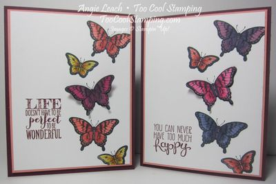Papillon blended butterflies - two cool