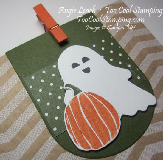 Fall Fest - 5 mossy pumpkin ghost