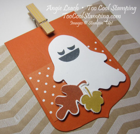 Fall Fest - 7 tangelo ghost leaf