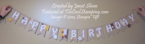 Janet's birthday banner copy