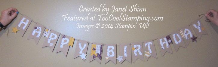 Janet's birthday banner copy