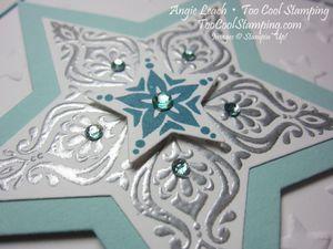 Bright & beautiful silver - indigo 2