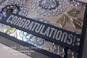 Foil - lovely lace congratulations 3