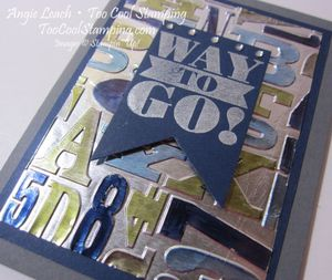Foil - alphabet press way to go 2