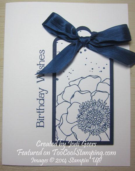 Jodi - blended bloom single copy
