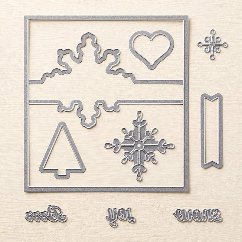 Snowflake card 135855G