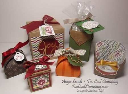 Fun & festive boxes - ensemble large