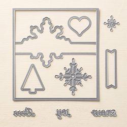 Snowflake thinlit 135855G