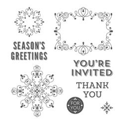 Letterpress winter 135143G