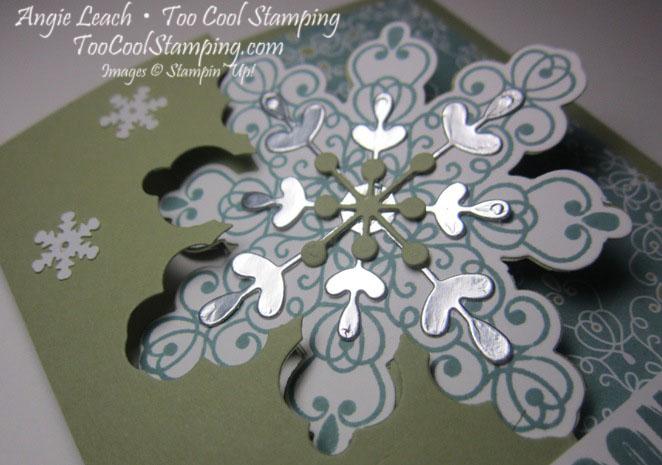 Snowflake flip - lagoon 2