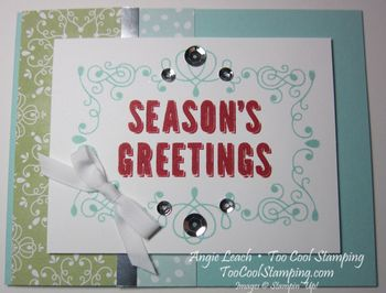 Seasons greetings - red h
