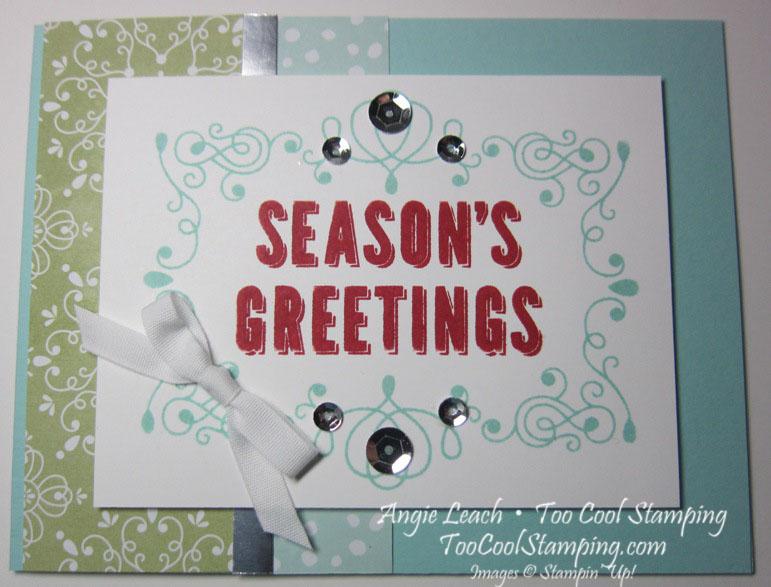 Seasons greetings - red h