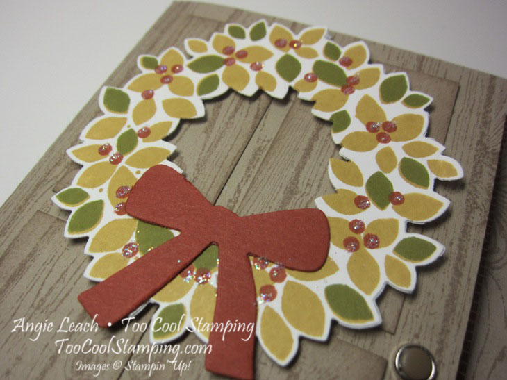 Fall wreath - tangelo 2