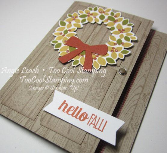 Fall wreath - tangelo 3