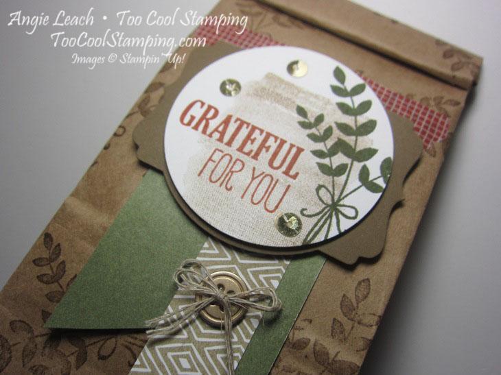Cafe bags - grateful 3